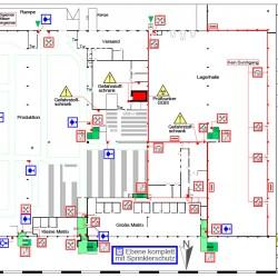 Brandschutzplan 1