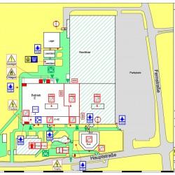 Brandschutzplan 2